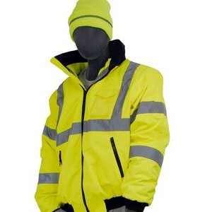Majestic® Hi-Vis Waterproof Jacket W/Removable Fleece Liner