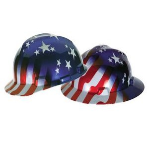 MSA's Freedom Hard Hat (American Stars & Stripes)