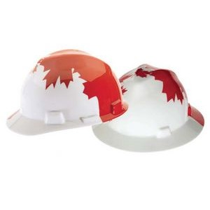 MSA's Freedom Hard Hat (Canadian Maple Leaf)
